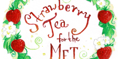 Strawberry Tea for the MET