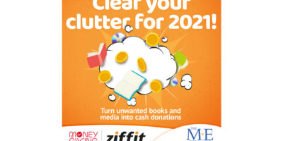 Declutter and raise funds for The ME Trust!